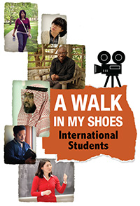 A Walk in My Shoes poster graphic
