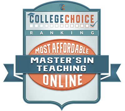 College Choice – Most Affordable Master's in Teaching Online badge