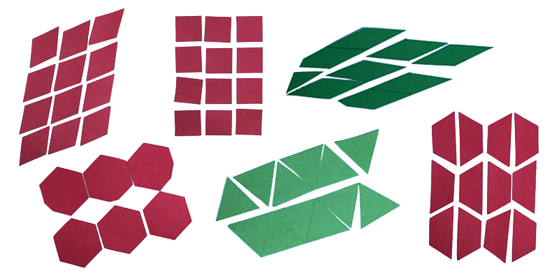 Pattern block sets